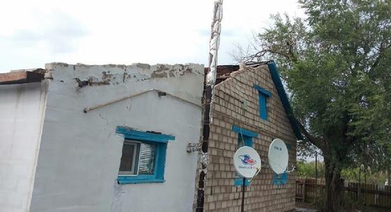 Сорванная крыша в ЗКО