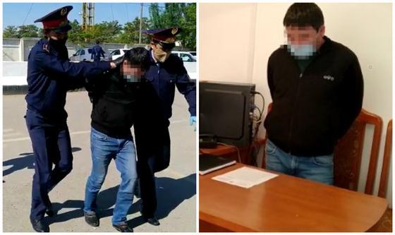 Водитель Mercedes наехал на двух полицейских, а третьего протащил на двери в Жетысае