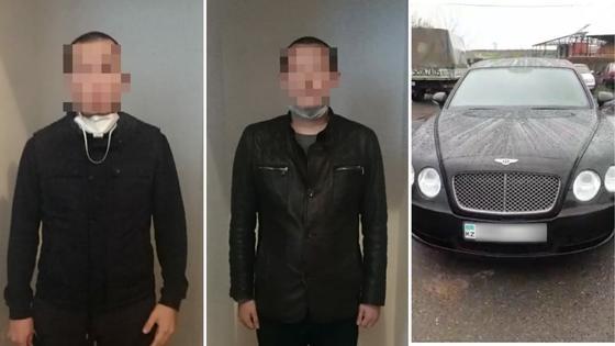 Нагло проехал блокпост под Алматы: водителя арестовали, Bentley - на штрафстоянке
