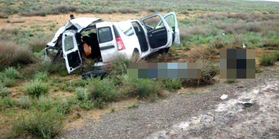 Три человека погибли в ДТП на дорогах Западно-Казахстанской области