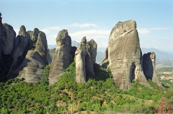 Горизонтальные скалы