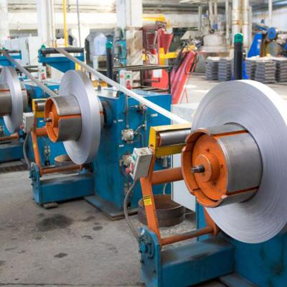 Завод по производству аккумуляторных батарей