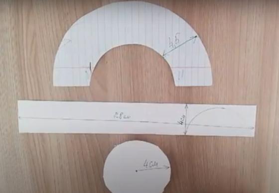 Шаблоны из бумаги