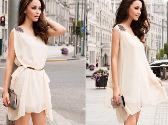 Платье в греческом стиле для беременных