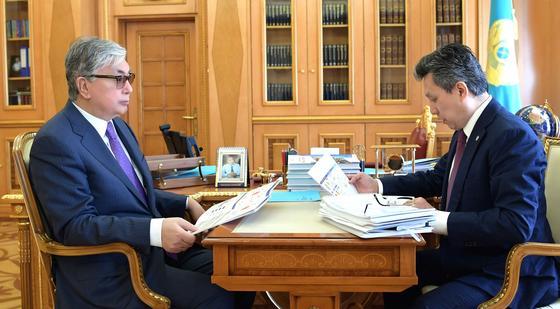 Токаеву представили план по компактной застройке Нур-Султана