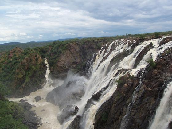 Водопад в Намибии
