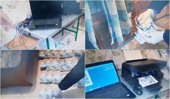Купюры в 10 тыс. тенге подделывали в Алматы (видео)