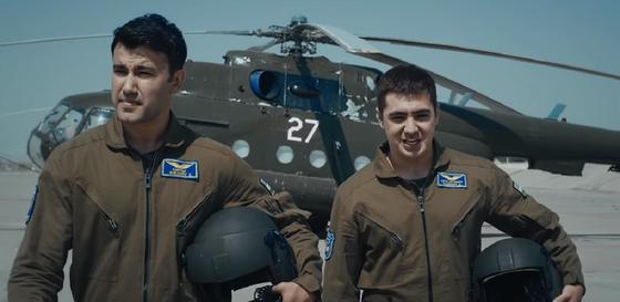 Кадр из фильма «За мирным небом»