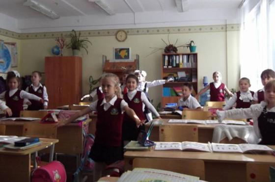 """Физминутки для начальных классов в стихах: """"Крошечка-Ховрошечка"""""""