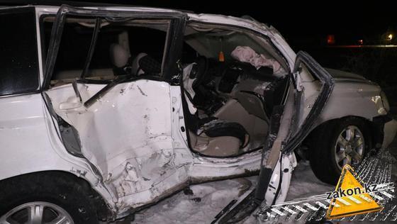 Смертельное ДТП произошло на трассе Алматы-Бишкек
