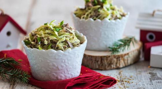 Салаты: рецепты, легкие в приготовлении
