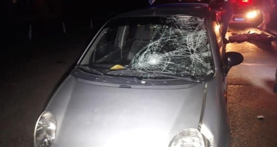 Matiz насмерть сбил пешехода в Алматы (фото)
