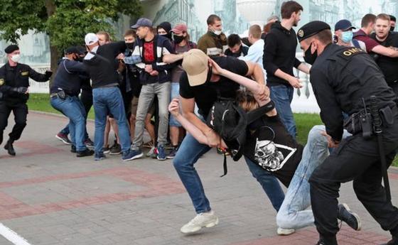 Задержания на протестах