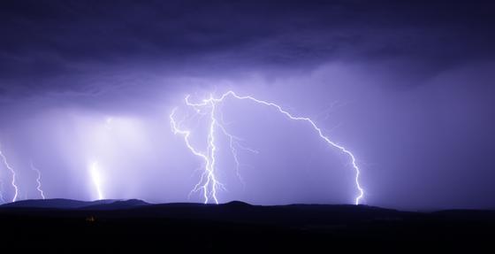 Пастуха и лошадь убило молнией в Акмолинской области