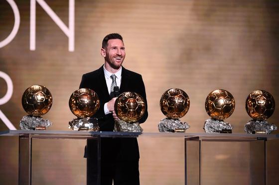 Лионель Месси и его золотые мячи