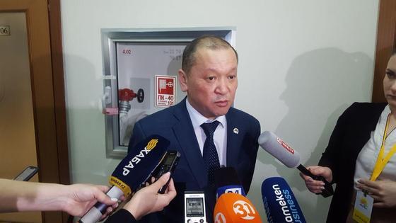 министр труда и социальной защиты населения РК Биржан Нурымбетов
