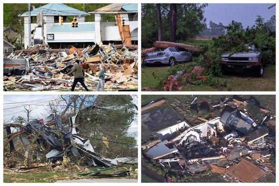 Самый разрушительный за последние годы ураган унес жизни 30 человек в США (фото, видео)