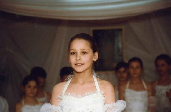 Глафира Тарханова в школьные годы