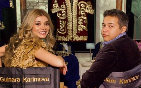 Гүлнар Каримова және баласы Ислам Каримов. Фото: instagram.com/i.kar7