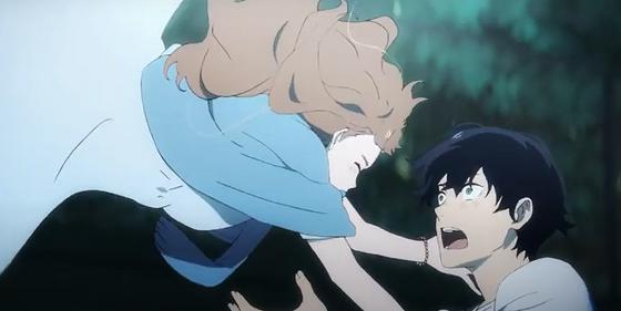 Кадр из полнометражного аниме «Жозе, тигр и рыба»
