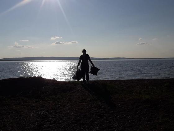 Вывезший соль из озера Кобейтуз астанчанин высыпал ее назад в озеро