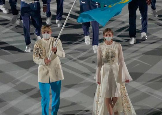 Камшыбек Кункабаев и Ольга Рыпакова