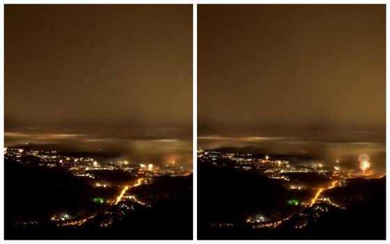 Завораживающее видео фейерверков в Алматы появилось в Сети