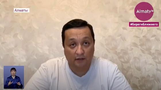 Пациент со 100-процентным поражением легких обратился к врачам Алматы