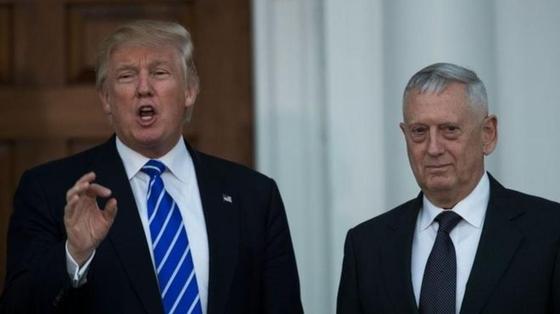 Трамп объявил об отставке главы Пентагона Джеймса Мэттиса