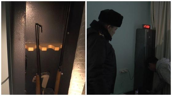 Владельцев гражданского оружия проверяют полицейские Алматы