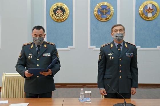 Мурат Бектанов и Нурлан Ермекбаев