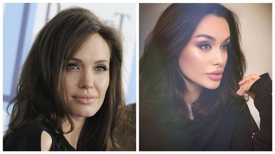 ФОТОРЕП 10 фото девушки с Кавказа, которую называю точной копией Джоли в лучшие годы