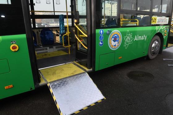 В Алматы обновляется еще один автобусный маршрут (фото)