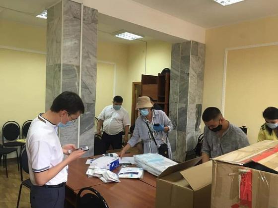 Гуманитарную помощь отправили ВОЗ и Катар в Казахстан