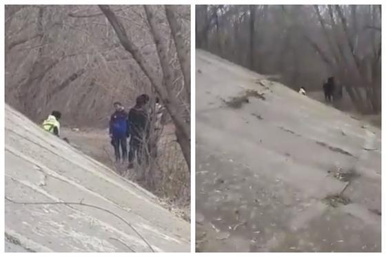 Полицейлердің үш баланың әкесін ұрғаны бейнеленген видео Қазнетте тарады