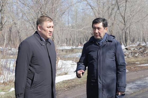 Аким Кошанов поставил точку в скандале вокруг парка в Караганде (фото)