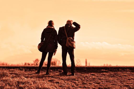 Пара путешественников