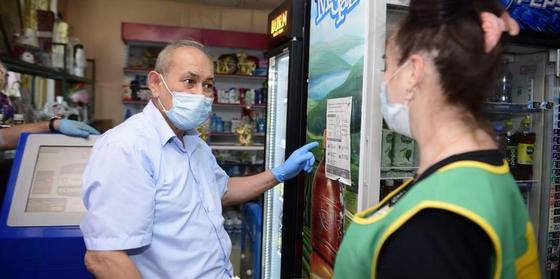 В Шымкенте прошел рейд по выявлению нарушителей режима карантина