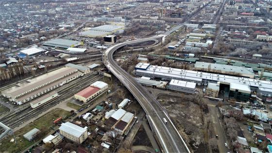 Три новые транспортные развязки появятся до конца года в Алматы