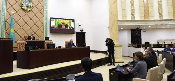 Дарига Назарбаева стала спикером сената