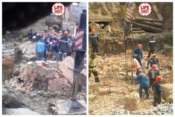 Здание обрушилось в Новосибирске: два человека погибли