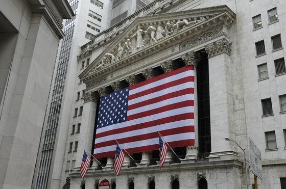 Здание биржи в Нью-Йорке