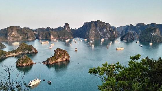 Отдых во Вьетнаме: Бухта Халонг