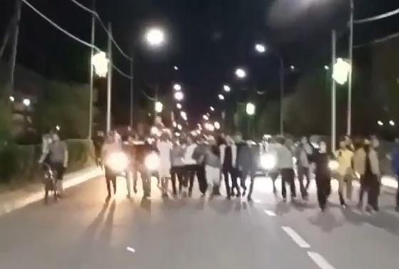 Появились фото последствий беспорядков в Сатпаеве