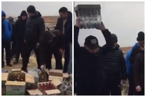Жители одного поселка в Туркестанской области отказались от спиртного