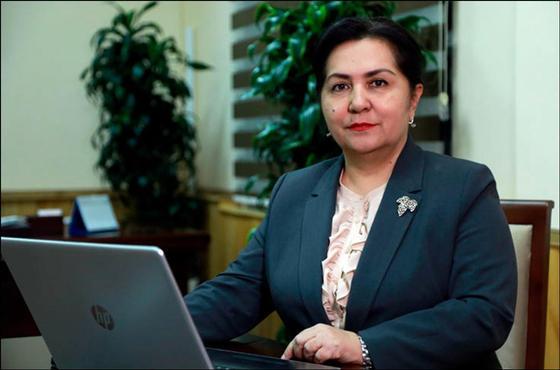 Женщина впервые стала главой Сената в Узбекистане