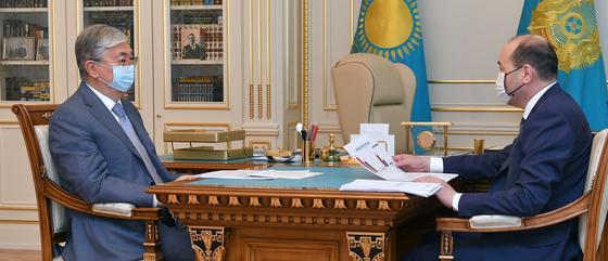 Қылмыс деңгейі төмендеген: Бас прокурор Тоқаевқа есеп берді