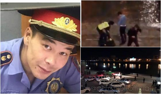 Полицейский трагически погиб, спасая девушку в Атырау (видео)