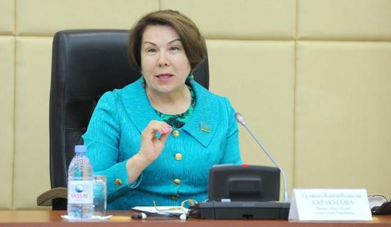 Гүлжан Қарағұсова. Фото: Parlam.kz