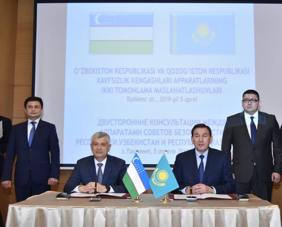 Совбезы Казахстана и Узбекистана обсудили ситуацию в Афганистане